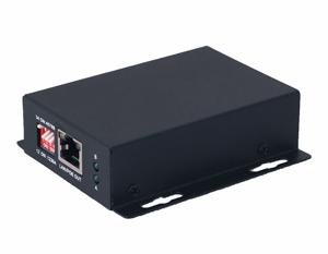 E-POE/1A - Бюджетный удлинитель Fast Ethernet + PoE до 400м
